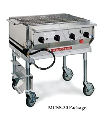 Magikitch'n MCSS-30 Magicater Transportable Gas Grill