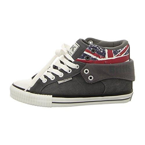 British Pantofole Union da Knights Jack Roco uomo Grigio U1nqTxUrw 249670da5af