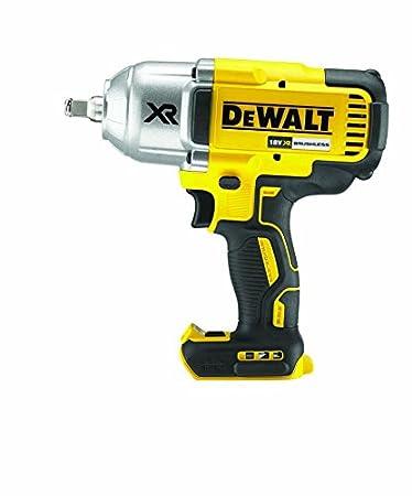 Dewalt DCF899HN-XJ Cordless Brushless High Torque Impact Wrench, 18 V, Yellow/Black