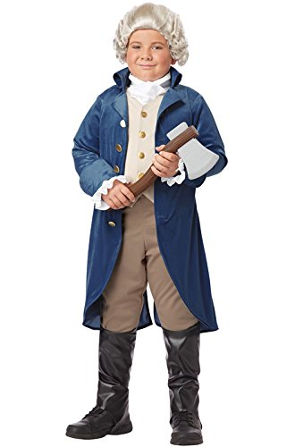 California Costumes George Washington/Thomas Jefferson/Alexa