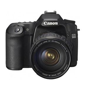 Canon EOS 50D 15.1 MP Digital SLR Camera Kit (Black)