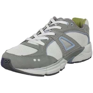 P.W. Minor Women's Tempo Lace-Up Walking Shoe,Grey,5 XW US