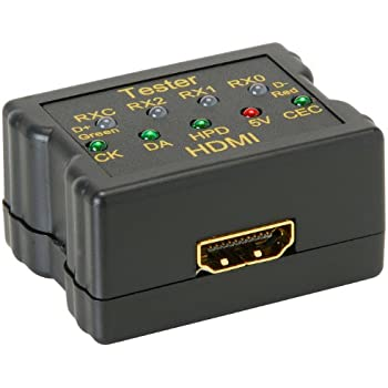 parts express hdmi cable signal tester home audio theater. Black Bedroom Furniture Sets. Home Design Ideas
