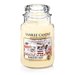 Yankee Candle Company Bakery Air Large Jar Candle