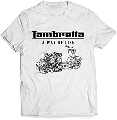 LAMBRETTA Camiseta para Hombre (XL) Blanca: Amazon.es: Coche y moto