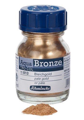 Schmincke Bronzes - Aqua 20ml - Pale Gold by Schmincke