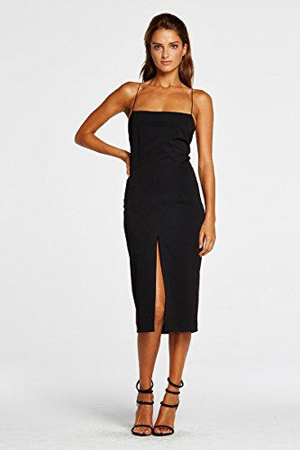 Eve Strappy and Maurie Women's Dress Dress Black Midi Fitted Niyol 75wRwT