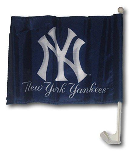MLB New York Yankees Car Flag