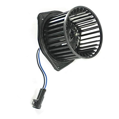 Vekwena Front HVAC AC Heater Blower Motor w/Wheel Fan Cage For Pontiac, Oldsmobile, Chevrolet, Saturn, (Pontiac Grand Am Heater Blower)