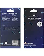 Thermalright Thermal Pad 12.8 W/mK, 85x45x1.5mm, Non Conductive Heat Resistance High Temperature Resistance, Silicone Thermal Pads for Laptop Heatsink/GPU/CPU/LED Cooler