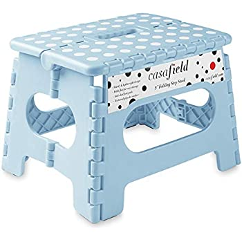 Amazon Com Home Expressions 9 Quot Folding Step Stool 12