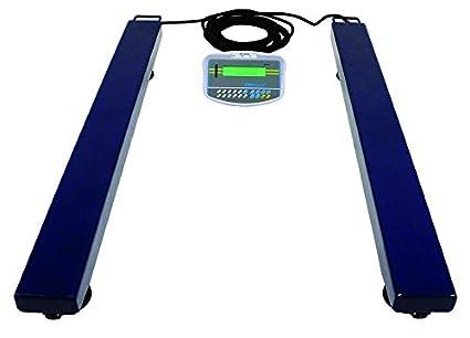 AE ADAM AELP 3000 + GK - Báscula de medición, color azul: Amazon.es: Industria, empresas y ciencia