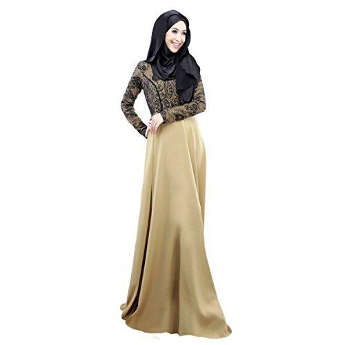 Aro Lora Women's Autumn Kaftan Abaya Islamic Muslim Women...