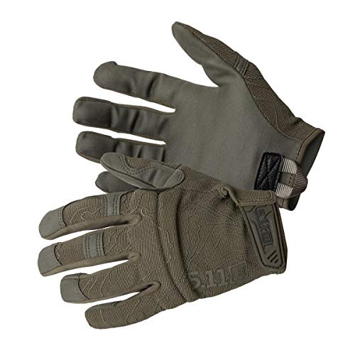 5.11 High Abrasion Tac Glove Men's Military Full Finger High Abrasion Tactical Gloves, Style 59371