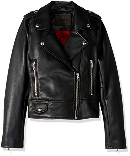 [BLANKNYC] Big Girl's Faux Leather Jacket Outerwear, It Takes Two, L