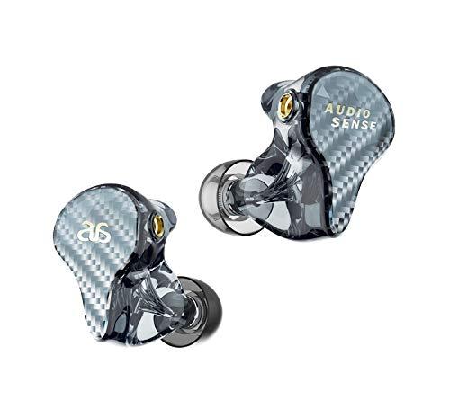 AUDIOSENSE T800 Knowles 8 バランス アーマチュア ドライバー HiFi IEMs 取り外し可能なMMCXケーブル付き 3D プリント樹脂シェル
