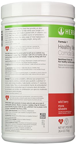 Herbalife Formula 1 Nutritional Shake Mix, Wild Berry Canister, 26.4 oz - Buy Online in UAE ...