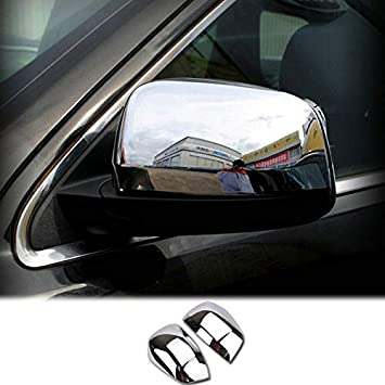 Fit For Toyota RAV4 2013-2017 ABS Chrome Car Side Rear Mirror View Cover Trim