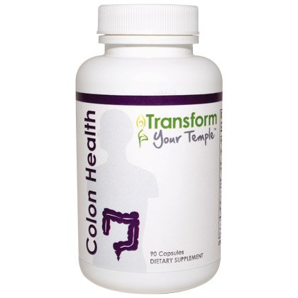 Transform Your Temple - Colon Health - 90 caps - 5 Pack