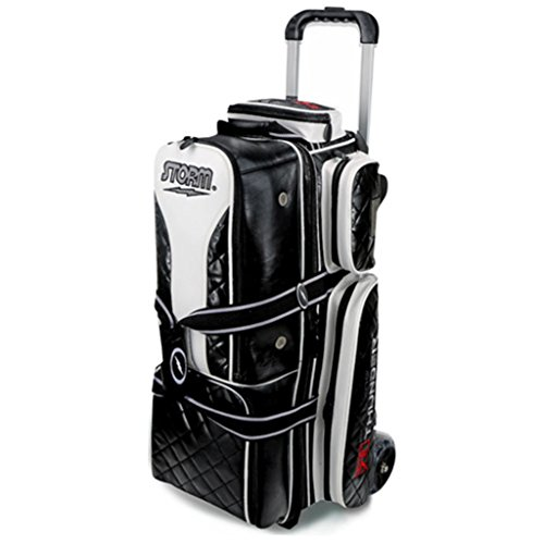 Storm 3 Ball Rolling Thunder Signature Series Bowling Bag, Black by Storm
