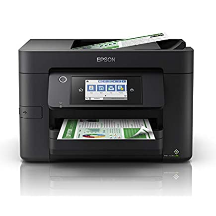 Epson WorkForce WF-4820 All-in-One Wireless Colour Printer with Scanner, Copier, Fax, Ethernet, Wi-Fi Direct and ADF…