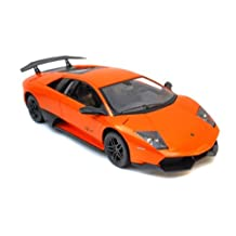 New Radio Remote Control 1/14 Lamborghini Murcielago LP670-4 Sport Car RC RTR (Orange)