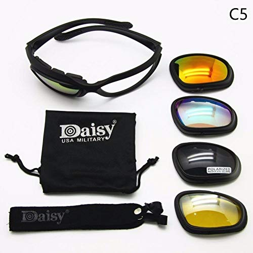 Tactical Army Glasses 4LS Men Military Daisy C5 Sunglasses for sale  Delivered anywhere in USA