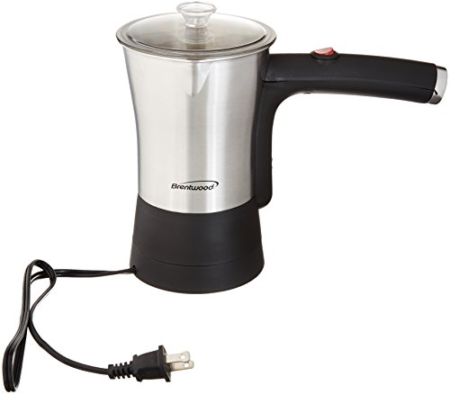 Brentwood Appliances TS-117S Electric Turkish Coffee Maker,
