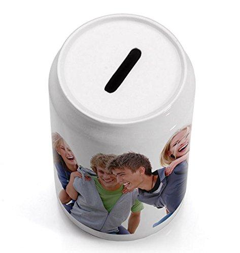 OyC Hucha Personalizada, con Foto, Regalo Original, cerámica, económico, Ahorrar 6