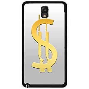 Cash Gun- Plastic Phone Case Back Cover Samsung Galaxy Note III 3 N9002