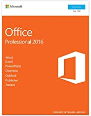 Microsoft Office 2016 Professional, Multi-language, Life time Activation, USB Flash drive   Activation Key Card, Sealed Package