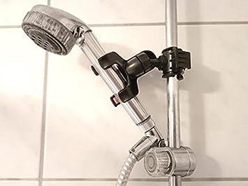 GroB Universal Halterung Für Duschkopf Klemme Dusche Duschstange Brause  Armatur Modell: IP13D