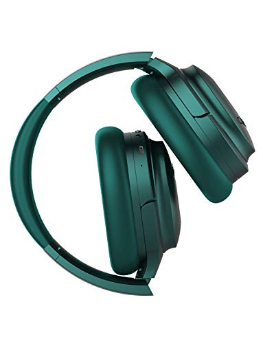 COWIN SE7 Active Noise Cancelling Headphones Bluetooth Headphones Wireless Headphones Over Ear With Mic/Aptx, Comfortable Protein Earpads 30H Playtime, Foldable Headphones For Travel/Work - Dark Green by cowin (Image #7)