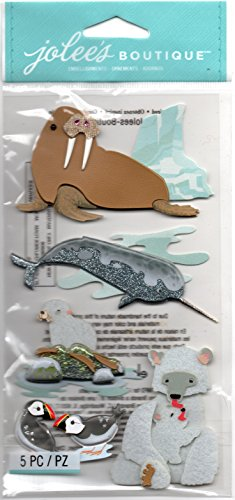 Ek Jolees Boutique Felt - EK Jolee's Boutique Arctic Animals