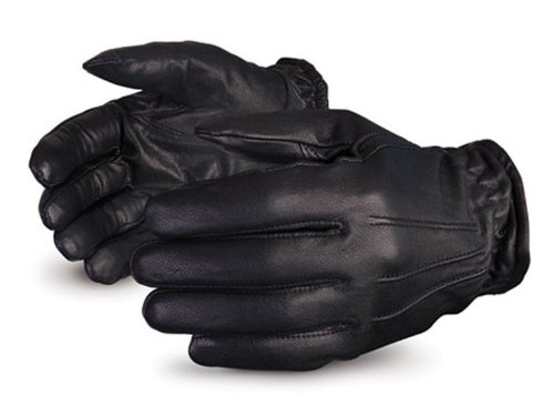 Superior 378SXB Clutch Gear Frisk Duty Grain Goatskin Leather Glove, Work, Cut Resistant, Large, Black (Pack of 1 Pair) by Superior Glove