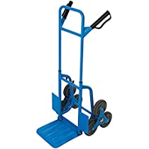 Silverline 736265 Carretilla de transporte para escaleras, Azul: Amazon.es: Bricolaje y herramientas