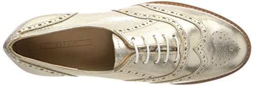 ESPRIT Damen Aida Met Lu Oxfords Gold (Gold)