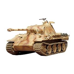 Tamiya Models German Pzkfw V Panther Ausf A Model Kit 6