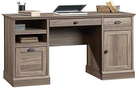 Bowery Hill Wood Executive Desk