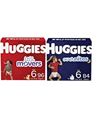 Baby Diapers Bundle: Huggies Little Movers Size