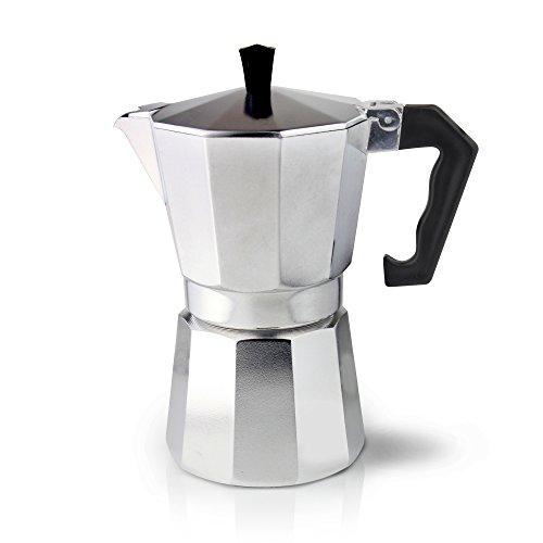 Cafe Ole ECM-03 3 Cup Italian Style Aluminium Espresso Coffee Maker 120ml