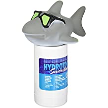 HydroTools by Swimline Large Capacity Floating Cool Shark Pool Chemical Dispenser