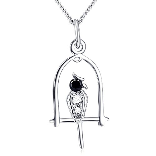 YFN Sterling Crystal Pendant Necklace