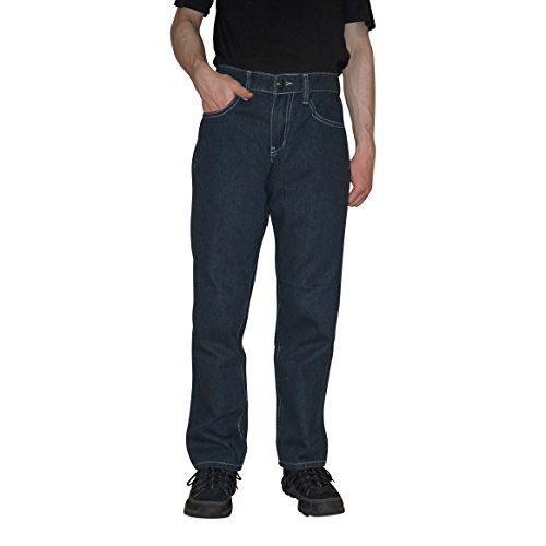 Big Joe Men's Straight Fit Jeans Pants, With A Beautiful Fashion Designer Back Pocket Embroidery (34Wx30L, ANTIQUE (Gangster Outfits For Men)