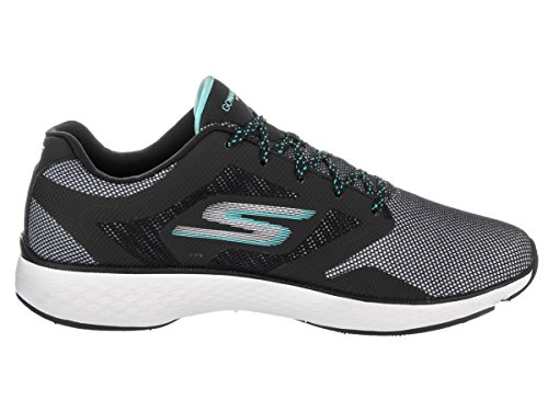 Skechers Womens GOwalk Sport Active Walking Sneaker Black/Aqua