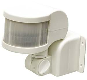 HQ EL-PIR40 detector de movimiento - Sensor de movimiento (Sensor infrarrojo pasivo (PIR), 220 - 240, 90 x 180 x 145 mm, -20 - 40 °C, Color blanco, CE, GS)
