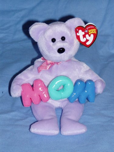 - BEANIE BABIES Ty Mom - Bear
