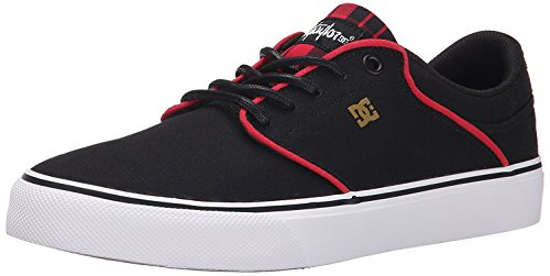 DC Mens Mikey Taylor Vulc SE Skate Shoe, Black/Plaid, 44.5 D(M) EU/10 D(M) UK
