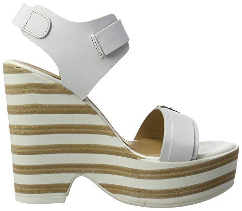 Fornarina Pretty - Sandalias Mujer Weiß (White)