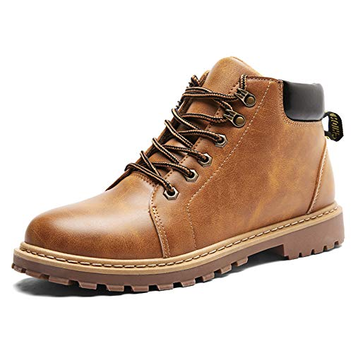 Mens Delphine Arcadia Ankle Boot Western Boots Motorcycle Boots(Yellow Lable 44/10 D(M) US Men) ()
